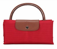 Valentine Leather Tote(Red)B352