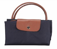Valentine Leather Tote(Blue)B352