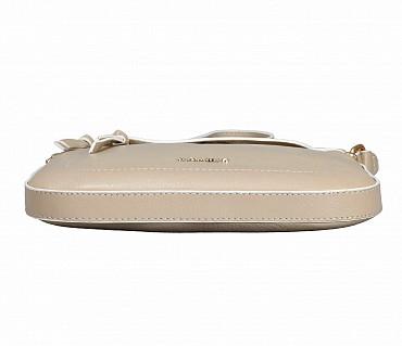 B859-Georgina-Sling cross body bag in Genuine Leather - Tope