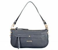 Leocadia Leather Handbag(Black)B860