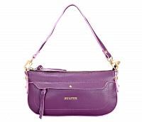 Leocadia Leather Handbag(Purple)B860