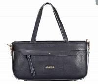 Pamelia Leather Handbag(Black)B861