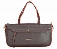Pamelia Leather Handbag(Brown)B861
