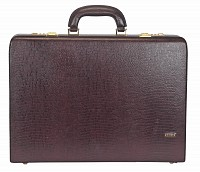 Leather Briefcase / Attache's(Wine)BC13