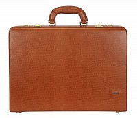 Leather Briefcase / Attache's(Tan)BC13