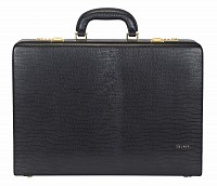 Leather Briefcase / Attache's(Black)BC13