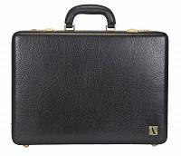 Leather Briefcase / Attache's(Black)BC14