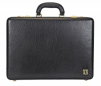 Leather Briefcase / Attache's(Black)BC14