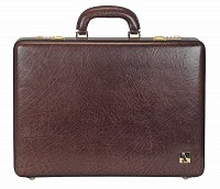 Leather Briefcase / Attache's(Brown)BC14