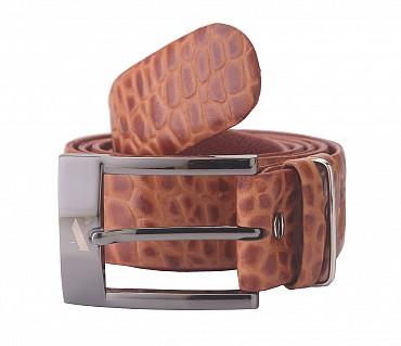 BL121--Men's Formal wear belt in Genuine Leather - Tan
