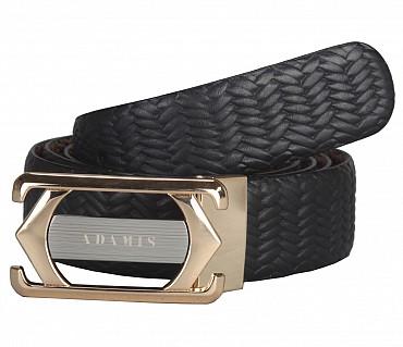 BL139--Men's reversible belt in Genuine Leather - Black/Brown