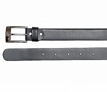 BL142--Men's Formal wear belt in Genuine Leather - Black