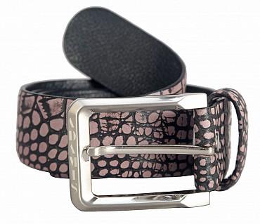 BL149--Men's stylish Casual wear belt in Genuine Leather - Beige