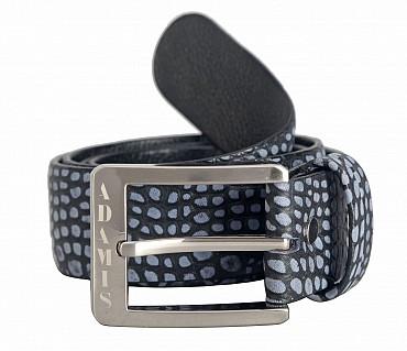 BL149--Men's stylish Casual wear belt in Genuine Leather - Black