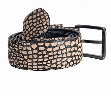 BL149--Men's stylish Casual wear belt in Genuine Leather - Brown.