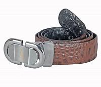 Leather Belt(Black/Brown)BL165