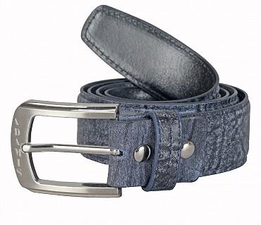 BL167--Men's stylish Casual wear belt in Genuine Leather - Black
