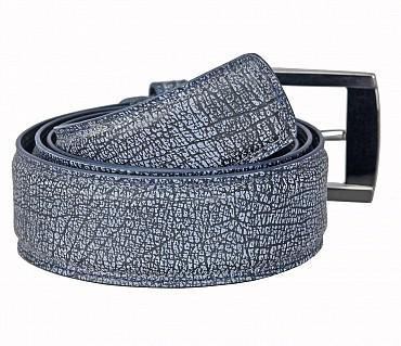BL169--Men's stylish Casual wear belt in Genuine Leather - Black