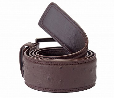 BL83--Men's stylish Formal wear belt in Genuine Leather - Brown.