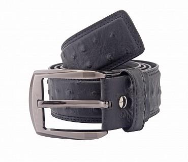 BL83--Men's stylish Formal wear belt in Genuine Leather - Black