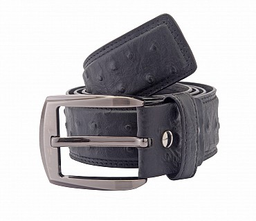 BL83--Men's stylish Formal wear belt in Genuine Leather - Black