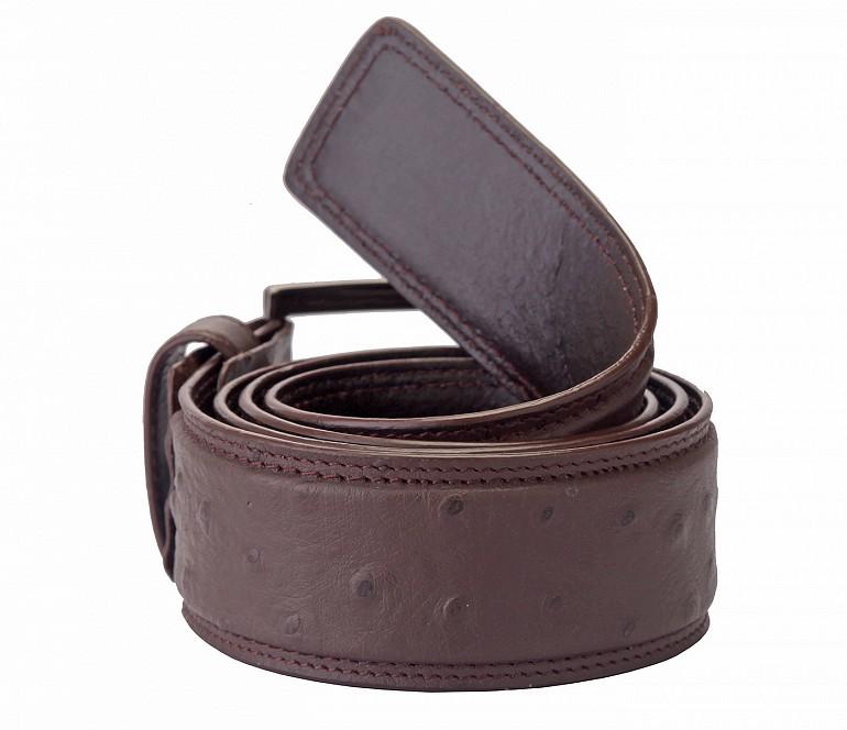 BL83--Men's stylish Formal wear belt in Genuine Leather - Brown.