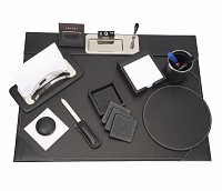 Leather Desk Set(Black)DSK1