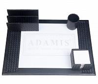 Leather Desk Set(Black)DSK2