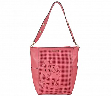 EB9-Mitzi Faux-Totes in Faux Leather - Pink.