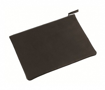 F16-Leonardo-Folder for documents in Genuine Leather - Black