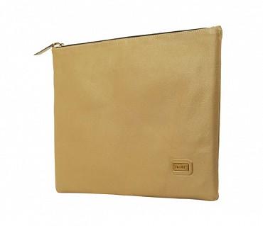 F16-Leonardo-Folder for documents in Genuine Leather - Tope