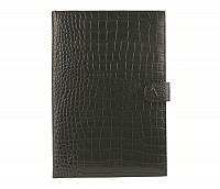 Vasco Leather Laptop Sleeve / Folder(Black)F24