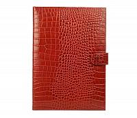 Vasco Leather Laptop Sleeve / Folder(Red)F24