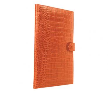 F24-Vasco-Sleek conference folder in Genuine Leather - Tan