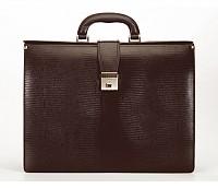 Paul Leather Portfolio / Laptop Bag(Brown)F27