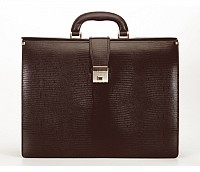 Paul Leather Portfolio / Laptop Bag(Brown)F27