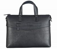 Michael Leather Laptop Sleeve / Folder(Black)F66