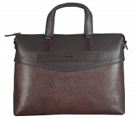 Michael Leather Laptop Sleeve / Folder(Brown)F66
