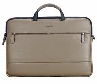 Leather Portfolio / Laptop Bag(KHAKI)F68