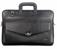 Leather Laptop Sleeve / Folder(Black)F70