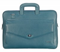 Leather Laptop Sleeve / Folder(Green)F70