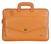 Leather Laptop Sleeve / Folder(LT TAN)F70