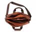 Portfolio / Laptop Bag-Henry-Laptop office executive bag in Genuine Leather - Tan/Brown
