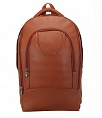 Ryder Leather Back Pack(Tan)LC29