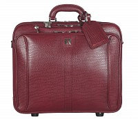 Celino Leather Strolley(Wine)LC8