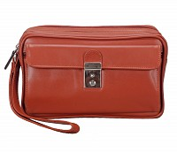 Leather Bag(Tan)P36
