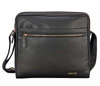 Dwayne Leather Bag(Black)P37
