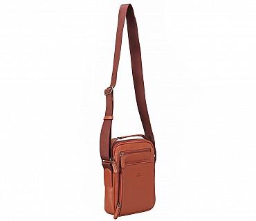 P38-Rafael-Men's travel pouch in Genuine Leather - Tan