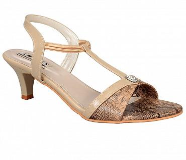 SS4-Adamis stilettos heels with back strap comfort wear slip on sandal in wine color- - Beige