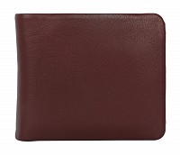 Almeda Leather Wallet(Wine)VW3